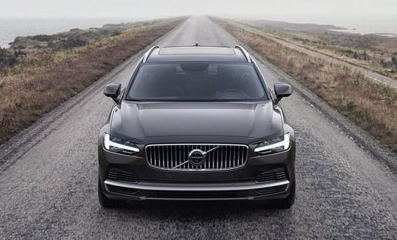 volvo v90 recharge exterior